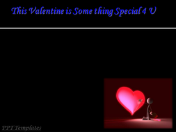 valentines day powerpoint presentation ppt slides with background