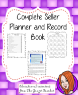 Seller Planner and Record Book