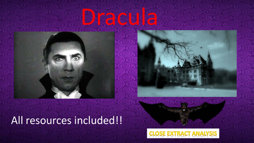 Dracula Extract Lesson