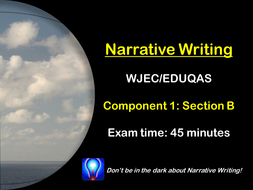 wjec descriptive writing The main purpose of descriptive writing is to define or describe a person, place or thing a descriptive essay merely describes someone or something by engaging the reader's mind.