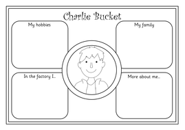 Charlie and the Chocolate Factory worksheets, display