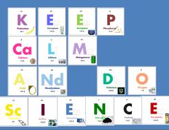 keep calm and do science bulletin board printables by sventresca