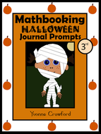 Halloween Math Journal Prompts 3rd Grade Common Core By
