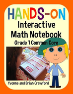 Interactive Math Notebook First Grade Common Core With Scaffolded