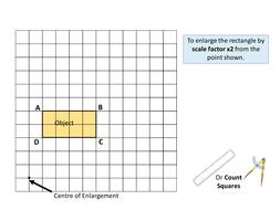 Geometry: Transformations 4 - Enlargement (Negative, Positive ...