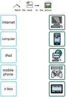 ICT Matching Widgit Symbol Supported