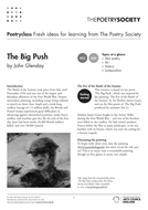 'The Big Push' - Responding to modern WWI poetry