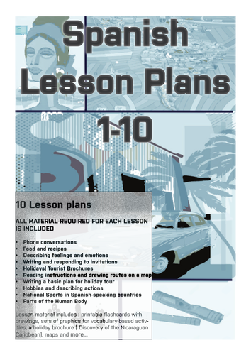 spanish lesson plans bundle 1 appropriate for secondary school by uk teaching resources tes. Black Bedroom Furniture Sets. Home Design Ideas