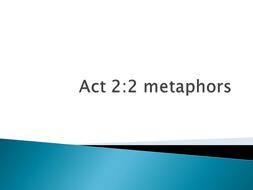 Lesson 12 Act 22 Metaphors Pptxpptx