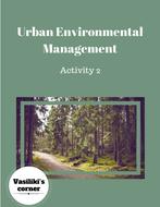 Urban environmental management Part 2: Go green