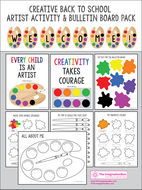 Back To School 'All About Me', Artist Themed Creative  Activities and Decor
