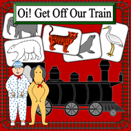 Oi! Get Off Our Train story pack- endangered animals- KS1, KS2