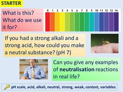 Neutralisation: making salts by tessbamber | Teaching Resources
