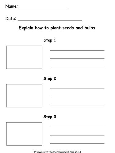 planting seeds ks1 lesson plan and worksheet by saveteacherssundays teaching resources tes. Black Bedroom Furniture Sets. Home Design Ideas