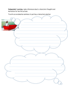 KS1 Narrative Story  Writing resources for  'Journey' by Aaron Becker New Curriculum KPIs for Year 2