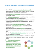 10-Tips-for-High-Quality-Assessment-for-Learning.docx