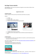 Digital Wildfire- E-safety & social media resource pack- KS3
