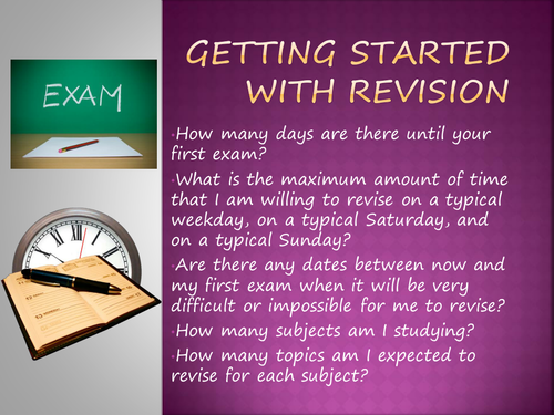 Revision Skills Tutor Time Powerpoints/Activites
