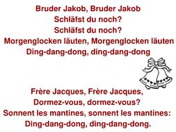Bruder jakob lyrics by tdav teaching resources tes bruder jakob lyrics stopboris Image collections