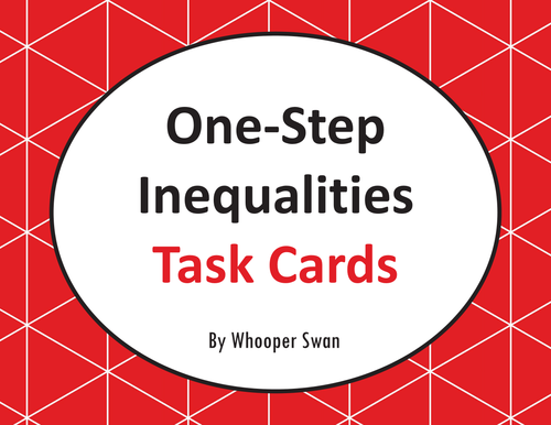 how to solve one step inequalities