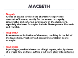 High School Essay Topics About Shakespeares Macbeth