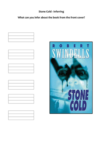 Book Cover Template Tes : Stone cold mixed resources powerpoints activities