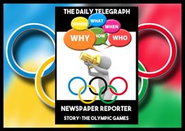 Olympic Games Rio 2016 Newspaper Writing Scandal Scenario