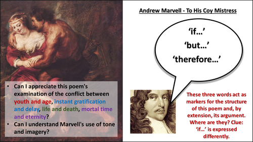 andrew marvells to his coy mistress essay Marvell's to his coy mistress: the essence of time marvells to his coy mistress: andrew marvell's to his coy mistress essay - andrew marvell's to his coy.