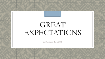 Great Expectations Lessons