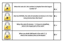 LOCK Yr 8 Rates & ratio.doc