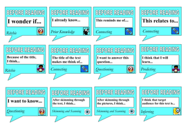 Text Discussion Cards-Guided Reading