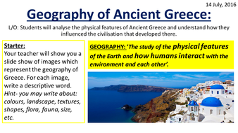 Geography of ancient greece by s4080105 teaching resources tes geography of ancient greece gumiabroncs Choice Image