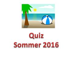 German General Knowledge Summer Quiz 2016 by louiscarys - Teaching