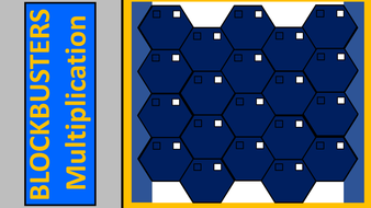Multiplication Blockbusters Game
