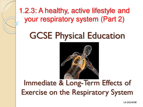 Edexcel Gcse Pe 1 2 3 A Healthy Active Lifestyle And