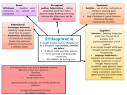 Free schizophrenia powerpoint template.
