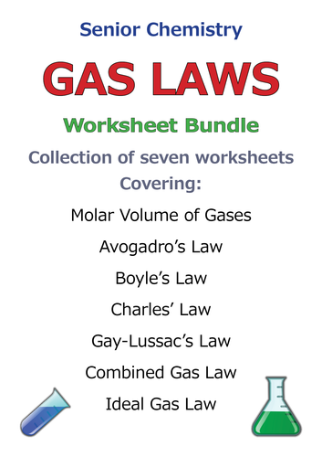 gas laws bundle by goodscienceworksheets teaching resources tes. Black Bedroom Furniture Sets. Home Design Ideas
