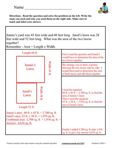Multiplication Worksheets » Multiplication Worksheets Algorithms ...