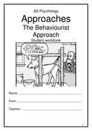 Behaviourist Approach Workbook New AQA 2015 Specification