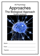 Biological Approach Workbook NEW AQA 2015 Specification