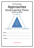 Social Learning Theory Workbook New AQA 2015 Specification
