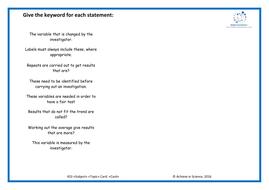 HSW-keyword-Matching---higher.docx