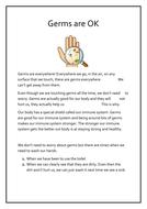 Social Story - Germs / Handwashing