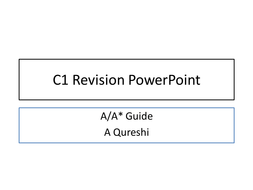 AQA C1 and C2 Revision PowerPoints