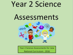 Year 2 Science Assessments And Tracking Without Levels Teaching Resources