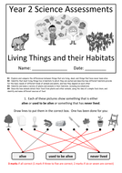Y2---Living-Things---Habitats-(Answers).docx