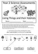 Y2---Living-Things---Habitats.docx