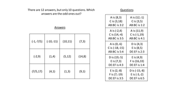 Dividing a line in a given ratio plenary