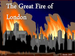 Great Fire of London power point