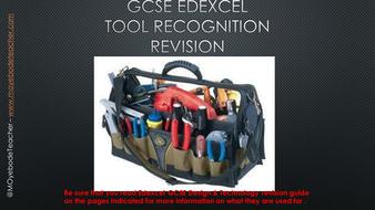 GCSE Design Technology Revision: Tool Recognition